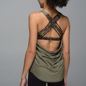 Lululemon | Wild Tank Fatigue Green